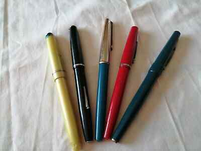 Vintage Job lot of Fountain Pens