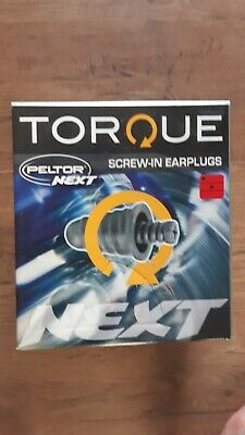 Peltor Next Screw In Ear Plugs 120 Pairs Boxed Torque Disposable
