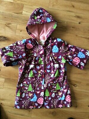 Beautiful Hatley Raincoat Bright  And Colourful . Girls age 7