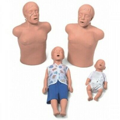 Simulaids CPR First Aid Instructor's Professional Manikin Starter Package