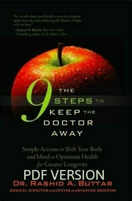 The 9 Steps to Keep the Doctor Away by Rashid Buttar (DIGITAL DLV)