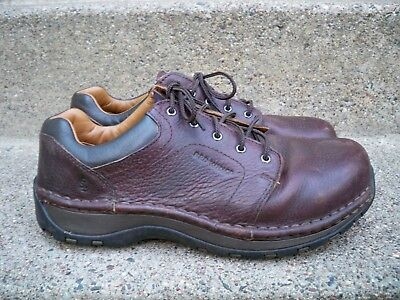 Red Wing #2324 Leather Women's Work Steel Toe Lace Up Shoes Oxfords Size 9 Wide