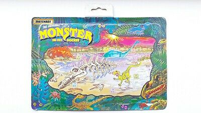 Monster in my pocket Dinosaurs 90's backing board by Matchbox