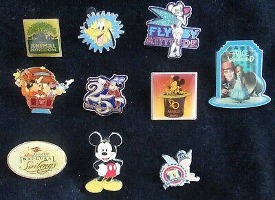LOT of 10 DISNEY Trading Pins / Retired/ LE ~Mickey/Tink/ Alice