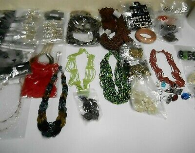 Wholesale Lot 125 Pieces Of Jewelry Liquidation Closeout!!