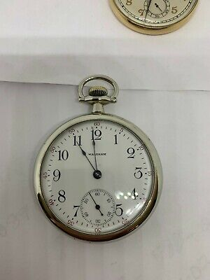 Waltham 16s 17j Grade 630 circa 1908 pocket watch running