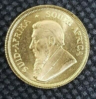 1/10 Oz Gold Coin 1984 South African Krugerrand South Africa Gold