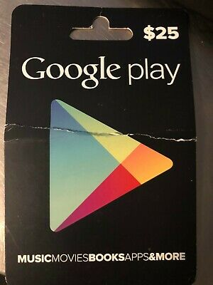 Google Play 25$ USD Gift Card