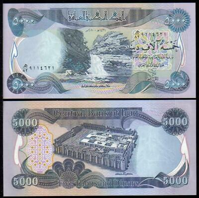 1/4 MILLION Iraqi Dinar (IQD) - (50) 5K Banknotes - Uncirculated - Fast Delivery