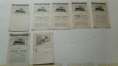 WWI : Rare White Star Line RMS Cedric Newsletters by 147th Aero Squadron, 1918