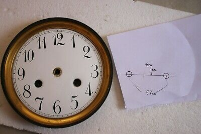 CLOCK SPARES French enamel dial & bezel