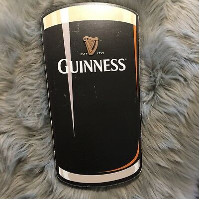 Guinness Beer Wooden Sign Wall Hanging Style Advertisement Nice!
