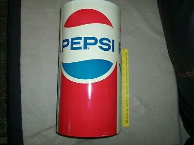 Vintage 1960s Metal/Styrofoam Pepsi Cola Can Cooler Made by Cheinco USA