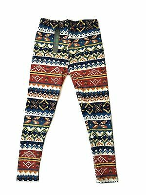 Always KIDS Toddler Girls High Waist Holiday Festive Super Soft Buttery Leggings