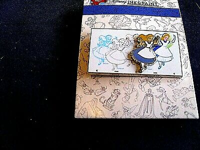 Disney * ALICE * INK & PAINT SERIES * New on Card Trading Pin