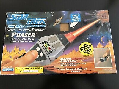 Star Trek, The Next Generation Phaser Collector's Edition 117199, New in Box