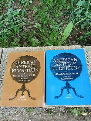 American Antique Furniture Guides by Edgar G. Miller Vol. 1 & 2