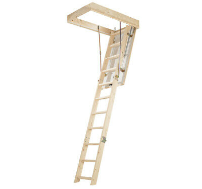 New ABRU Timber Complete Loft Ladder Access Kit - up to 2.8m height