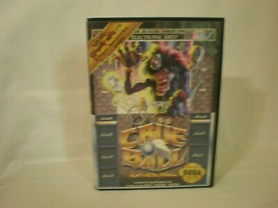 Crue Ball - Sega Genesis Box Only!  *original Sega*