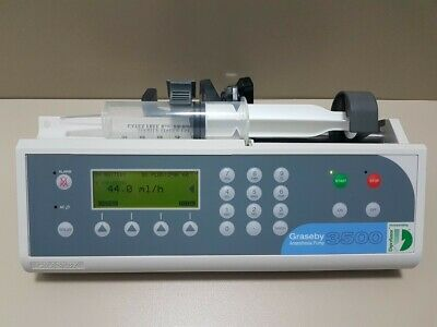 Graseby 3500 TCI Anaesthesia Syringe PumpConvenience and Control IV.
