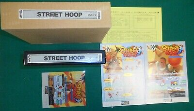 Street Hoop In The Box Snk Mvs Arcade Cartridge