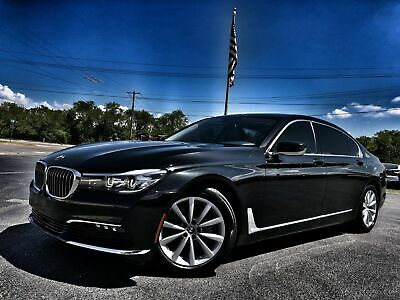 2016 BMW 740i LOADED 1 OWNER CARFAX CERT 2016 Black LOADED 1 OWNER CARFAX CERT!