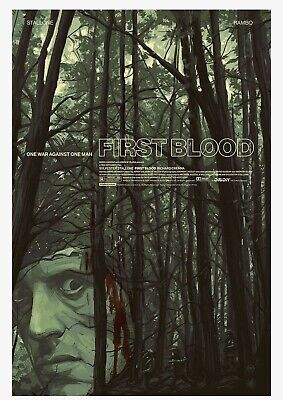 2020 Rambo - First Blood Limited Edition Mondo Movie Poster! Sold Out! XXX/300!