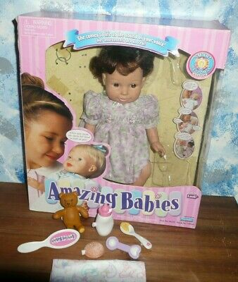 Amazing Babies Interactive Doll by Playmates
