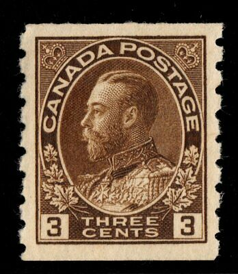 #129 Canada mint never hinged well centered XF cv $125