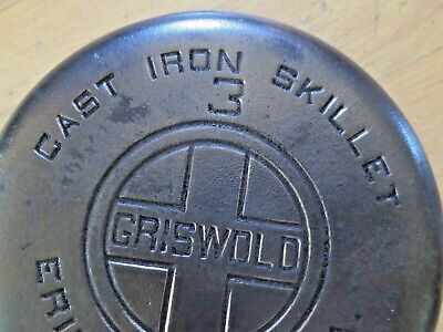Antique / Vintage Griswold #3 Cast Iron 6.5 inch Fry Frying Pan 709-A
