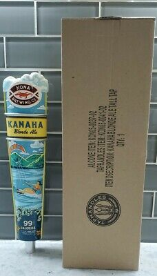 "Kona Brewing Kanaha Blonde Ale Beer Tap Handle 11.6"" Tall - Brand New In Box!"
