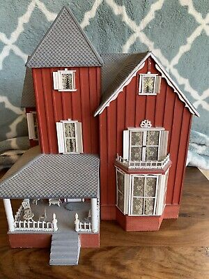 1/4 1/48 Fully Furnished Dollhouse