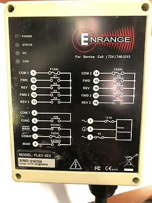 Enrange Magnetek FLEX 4EX Radio Remote  System With Receiver & Transmitters
