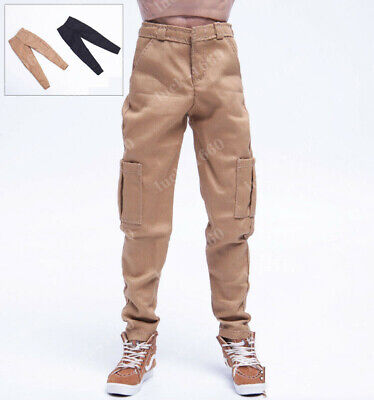 1/6 Scale Male Casual Pants Model Leisure Trousers Fit 12'' Body Action Figure