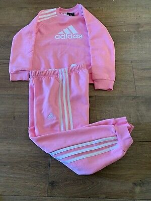 Adidas Originals  Girls 4-5 Bottoms 5-6 Top Brand New Tracksuit Clearance Sale
