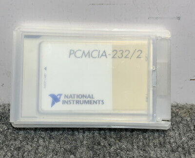 National Instruments PCMCIA Card PCMCIA-232/2 183884C-02