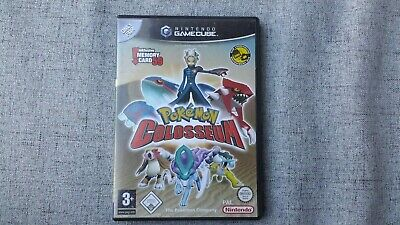 Leerhülle + Anleitung Pokemon Colosseum Game Cube GC OVP Sehr guter Zustand