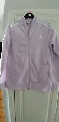 Adidas Girls Pink Sports Jacket Age 13-14