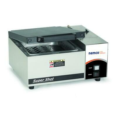 Nemco - 6600 - Super Shot 1/2 in Pan Countertop Steamer