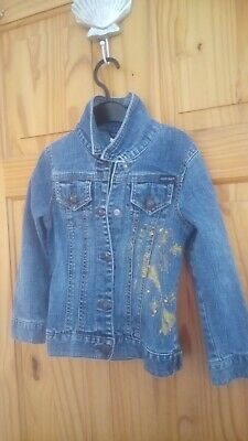 Girls Jean Jacket Age 5years By Guess