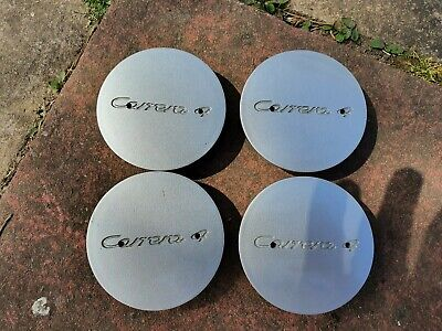 Porsche 993 Carerra 4 Wheel Centre Caps Genuine Set of 4