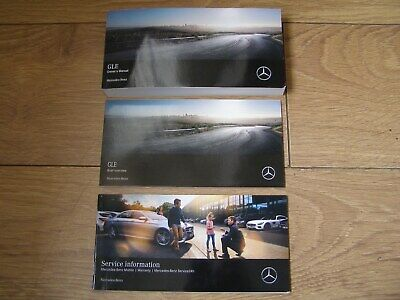 Mercedes Gle Class Owners Manual Handbook Pack  2018 - 2020  Free Uk Postage