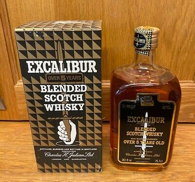 Excalibur Blended 1970s Scotch Whisky