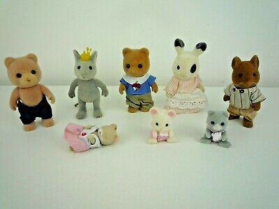 Sylvanian Families Bundle Of 8 Assorted Figures