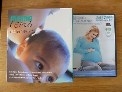Mama Maternity Tens Machine & Dvd - Safe Drug Free Pain Relief During Labour
