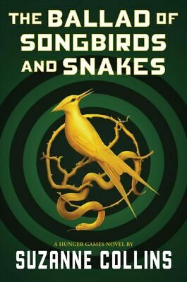 The Ballad Of Songbirds And Snakes 2020 Hardcover New Free Ship