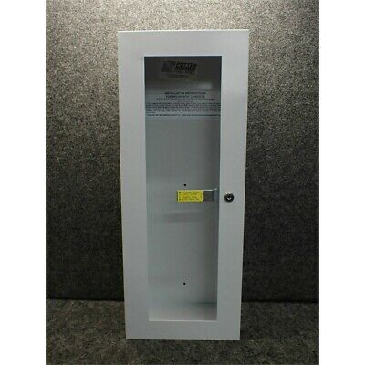 Potter Roemer 7509-24-B Steel Fire Extinguisher Cabinet,  9W X 24H X 6D in.