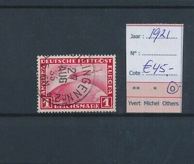 LL96701 Germany 1921 Reich airmail fine lot used cv 45 EUR