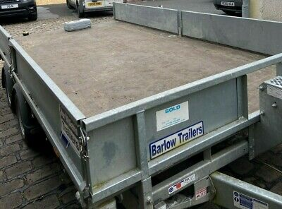 Ifor williams trailer and winch