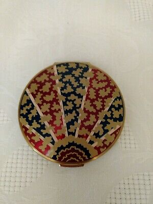 Vintage Stratton Floral Compact England
